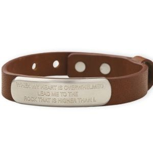 The Rock genuine leather bracelet
